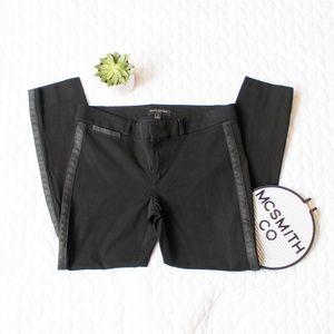 Banana Republic    Sloan Faux Leather Trim Pants
